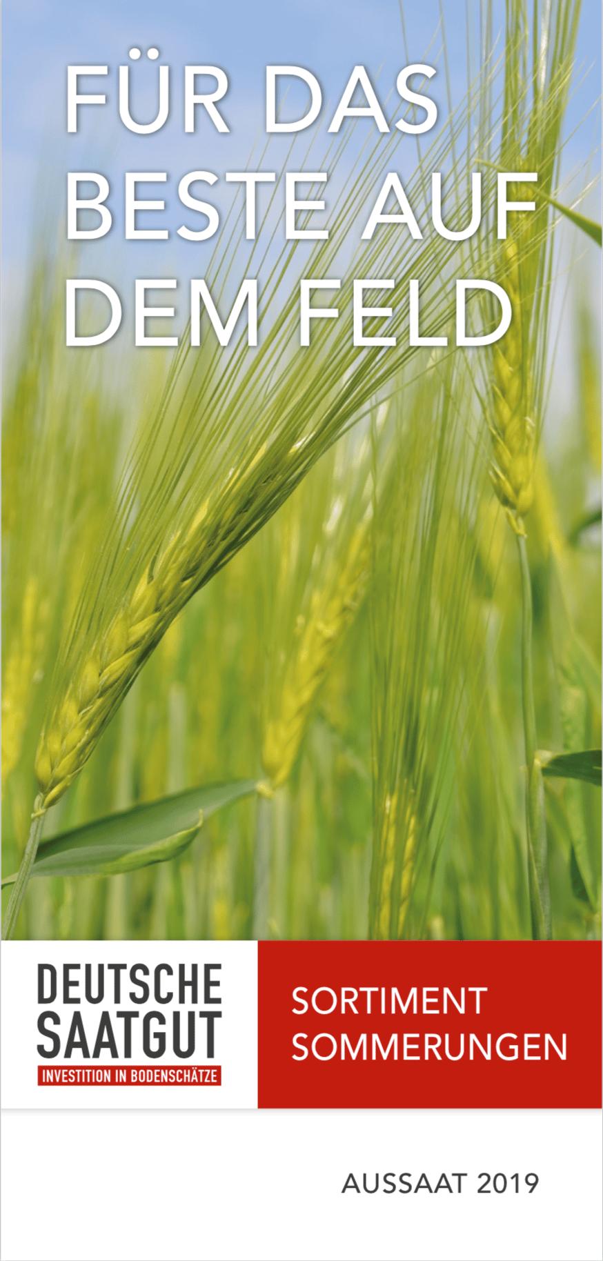 Sortenkatalog Getreide