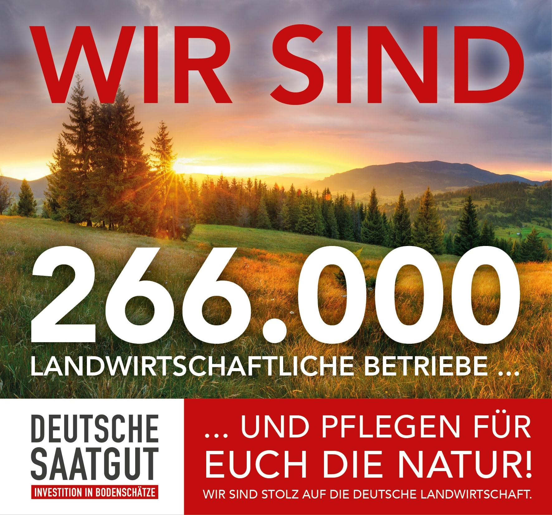 """""""WIR SIND STOLZ UND ERKLÄREN UNS SOLIDARISCH MIT DER DEUTSCHEN LANDWIRTSCHAFT!"""""""